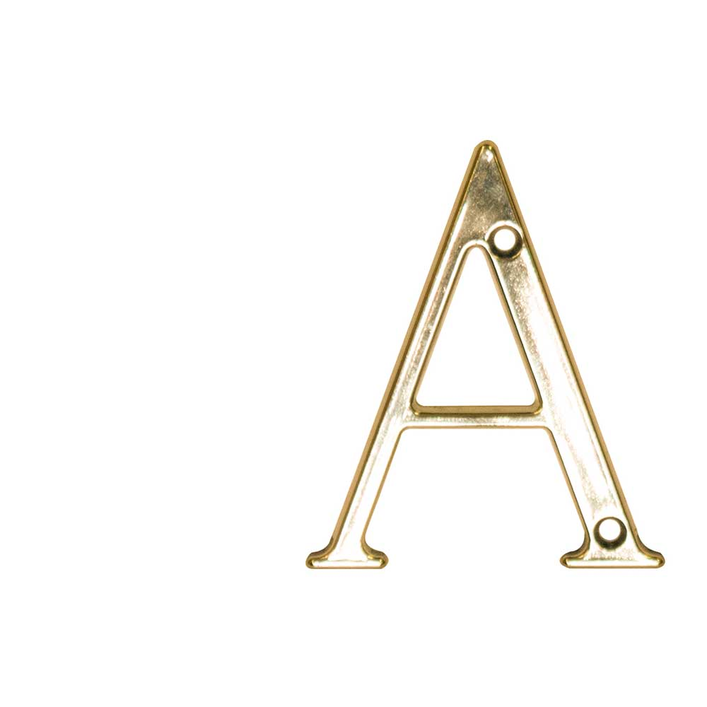 Fab & Fix 3in Letter - A Hardex Gold