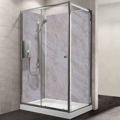 MB MAXI Batrhroom Shower Panel Beige Marble