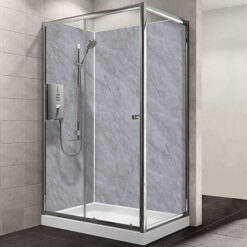 Grey Marble MB MAXI Shower Wall Panel