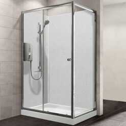 MB MAXI Shower Wall Panel White Sparkle
