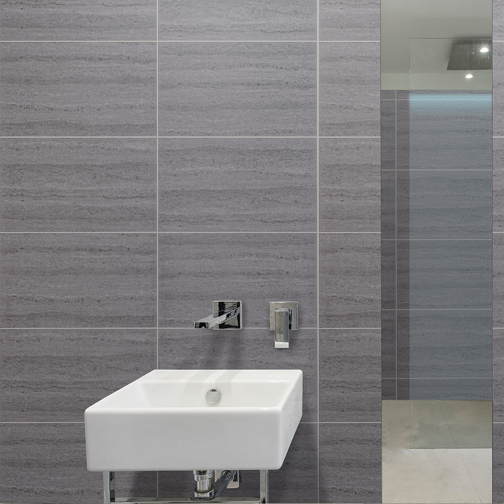 MB Ultimo Gwent 500mm Wide Tile Effect Bathroom Cladding ...