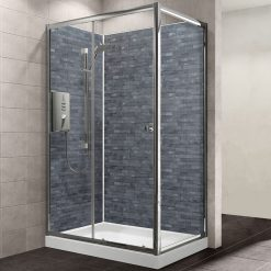 MB XL Slate Grey Shower Panel