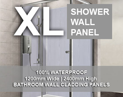XL Shower Wall Panel