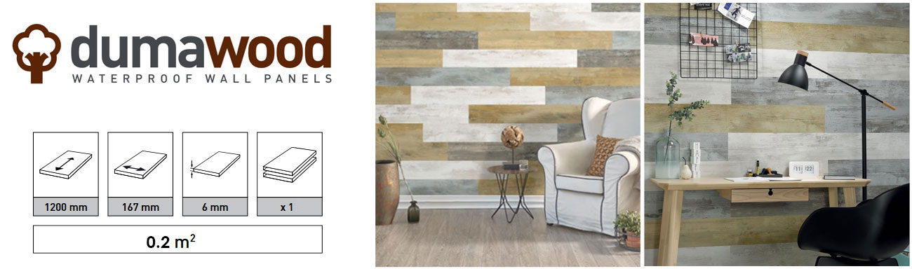 Dumawood Wall Wood Panel Effect Planks