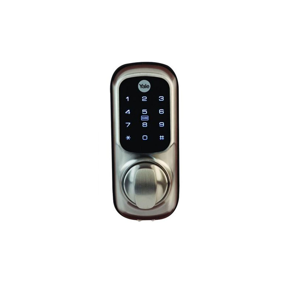Yale Smart Home Keyless Connected Door Lock Satin Chrome